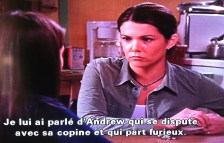 Lauren Graham talking about my character... in FRENCH!