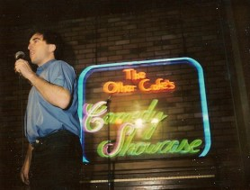 Stand-up at the Other Cafe in the 80s